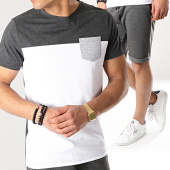 /achat-ensembles-survetement/lbo-ensemble-tee-shirt-et-short-676-gris-anthracite-blanc-171274.html
