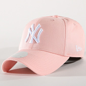 /achat-casquettes-de-baseball/new-era-casquette-femme-league-essential-new-york-yankees-80489299-rose-171221.html