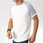 /achat-t-shirts-longs-oversize/project-x-tee-shirt-oversize-1910007-ecru-bleu-clair-171200.html