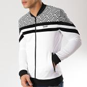 /achat-vestes/project-x-veste-zippee-1930001-blanc-noir-171206.html