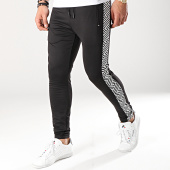 /achat-pantalons-joggings/project-x-pantalon-jogging-avec-bandes-1940001-noir-blanc-171207.html