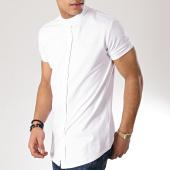 /achat-t-shirts-longs-oversize/project-x-tee-shirt-boutonne-oversize-1910027-blanc-171251.html