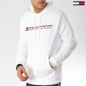 /achat-sweats-capuche/tommy-sport-sweat-capuche-vertical-logo-s20s200067-blanc-171111.html
