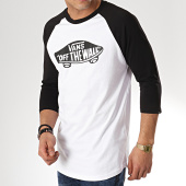 /achat-t-shirts-manches-longues/vans-tee-shirt-manches-longues-otw-raglan-xxmyb2-blanc-noir-171162.html