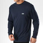 /achat-t-shirts-manches-longues/vans-tee-shirt-manches-longues-retro-tall-type-a3w1jnvy1-bleu-marine-171183.html