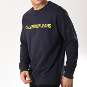 /achat-sweats-col-rond-crewneck/calvin-klein-sweat-crewneck-institutional-logo-7758-bleu-marine-171293.html