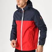 /achat-vestes/element-veste-zippee-capuche-alder-2-tone-rouge-bleu-marine-171325.html