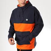/achat-sweats-capuche/element-sweat-capuche-trillin-orange-bleu-marine-171346.html