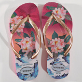/achat-tongs/havaianas-tongs-femme-slim-tropical-sunset-4143981-rose-dore-floral-171337.html