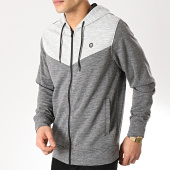 /achat-sweats-zippes-capuche/jack-and-jones-sweat-zippe-capuche-cervon-gris-clair-chine-gris-anthracite-chine-171464.html