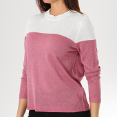 /achat-pulls/only-pull-femme-over-rose-blanc-171360.html