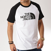/achat-t-shirts/the-north-face-tee-shirt-raglan-easy-37fv-blanc-noir-171362.html