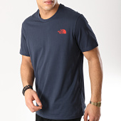 /achat-t-shirts/the-north-face-tee-shirt-simple-dome-2tx5-bleu-marine-171375.html