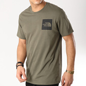 /achat-t-shirts/the-north-face-tee-shirt-fine-ceq5-vert-kaki-171490.html