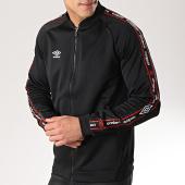 /achat-vestes/umbro-veste-zippee-avec-bandes-authentic-697300-60-noir-171330.html