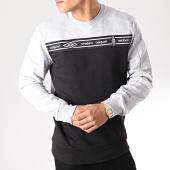 /achat-sweats-col-rond-crewneck/umbro-sweat-crewneck-avec-bande-authentic-697331-60-noir-gris-chine-171340.html