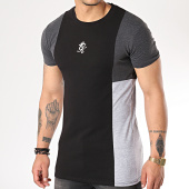 /achat-t-shirts/gym-king-tee-shirt-front-panel-noir-gris-chine-171804.html