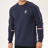 /achat-sweats-col-rond-crewneck/gym-king-sweat-crewneck-woods-retro-bleu-marine-171812.html