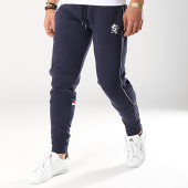 /achat-pantalons-joggings/gym-king-pantalon-retro-lewis-tape-bleu-marine-171813.html