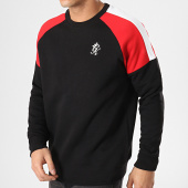 /achat-sweats-col-rond-crewneck/gym-king-sweat-crewneck-core-plus-contrast-noir-rouge-blanc-171816.html