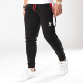 /achat-pantalons-joggings/gym-king-pantalon-jogging-core-plus-contrast-noir-blanc-rouge-171818.html