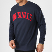 /achat-sweats-col-rond-crewneck/jack-and-jones-sweat-crewneck-millennium-bleu-marine-171700.html