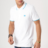 /achat-polos-manches-courtes/jack-and-jones-polo-manches-courtes-stone-blanc-turquoise-171751.html