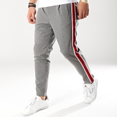 /achat-pantalons-carreaux/jack-and-jones-pantalon-avec-bandes-vega-gris-171827.html