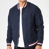 /achat-vestes/jack-and-jones-veste-zippee-suedine-hall-bleu-marine-171839.html