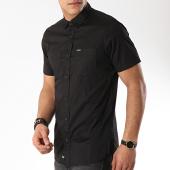 /achat-chemises-manches-courtes/kaporal-chemise-manches-courtes-mogi-noir-171544.html