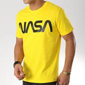 /achat-t-shirts/nasa-tee-shirt-worm-logo-jaune-171851.html