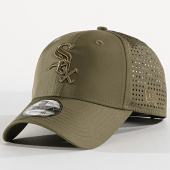 /achat-casquettes-de-baseball/new-era-casquette-feather-perf-940-chicago-white-sox-vert-kaki-171613.html