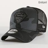 /achat-trucker/new-era-casquette-trucker-enfant-character-superman-noir-gris-camouflage-171622.html