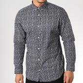 /achat-chemises-manches-longues/produkt-chemise-manches-longues-dek-fauna-aop-noir-blanc-floral-171776.html
