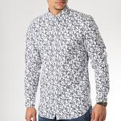 /achat-chemises-manches-longues/produkt-chemise-manches-longues-dek-fauna-aop-blanc-bleu-marine-floral-171777.html