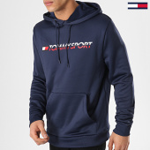 /achat-sweats-capuche/tommy-sport-sweat-capuche-vertical-logo-s20s200067-bleu-marine-171846.html