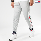 /achat-pantalons-joggings/tommy-sport-pantalon-jogging-logo-0088-gris-chine-171849.html