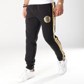/achat-pantalons-joggings/ea7-pantalon-jogging-a-bandes-3gpp67-pjt6z-noir-dore-171954.html
