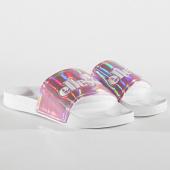 /achat-claquettes-sandales/ellesse-claquettes-femme-filomene-osel91w398-blanc-rose-171885.html