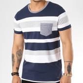 /achat-t-shirts-poche/esprit-tee-shirt-poche-0039cc2k004-bleu-marine-blanc-gris-chine-171956.html