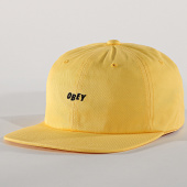 /achat-casquettes-de-baseball/obey-casquette-cutty-6-panel-jaune-171869.html
