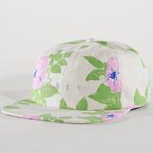 /achat-strapbacks/obey-casquette-strapback-braniac-6-panel-beige-floral-171876.html