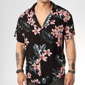 /achat-chemises-manches-courtes/sixth-june-chemise-manches-courtes-m3707vsh-noir-floral-rouge-171951.html