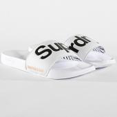 /achat-claquettes-sandales/superdry-claquettes-mf3108st-blanc-noir-171913.html