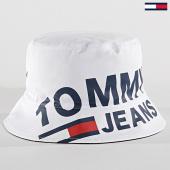 /achat-bobs/tommy-hilfiger-jeans-bob-logo-0560-blanc-171881.html