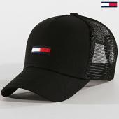 /achat-trucker/tommy-hilfiger-jeans-casquette-trucker-flag-0561-noir-171884.html