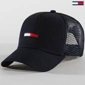 /achat-trucker/tommy-hilfiger-jeans-casquette-trucker-flag-0561-bleu-marine-171888.html