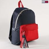 /achat-sacs-sacoches/tommy-hilfiger-jeans-sac-a-dos-logo-tape-au0au00491-bleu-marine-rouge-171922.html