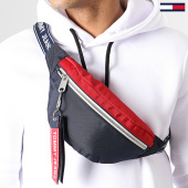 /achat-sacs-banane/tommy-hilfiger-jeans-sac-banane-logo-tape-bumbag-au0au00533-bleu-marine-rouge-171925.html