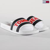 /achat-claquettes-sandales/tommy-hilfiger-jeans-claquettes-core-em0em00219-blanc-171968.html